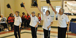 Line Dancing Competition at Maryland Senior Olympics