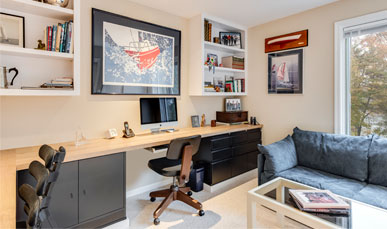 Large Office in Apartment at Ginger Cove